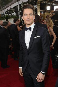 Matt Bomer at an event for The 74th Golden Globe Awards (2017)