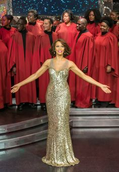 Whitney Houston's Wax Figure Unveiled in Madame Tussauds London