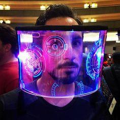 Tony Stark J.A.R.V.I.S cosplay