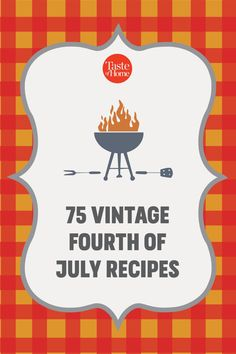 Fourth Of July Decor, 4th Of July Decorations, July 4th, Summer Recipes, Holiday Recipes, Vintage Cooking, Dinner Themes, Taste Of Home, Summer Fruit