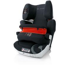 La probada Concord Transformer XT-Pro es una silla de Grupo 1/2/3 que combina todas las ventajas de la gama Transformer XT con el cojín de seguridad para utilizarse a partir de los 9 meses. Equipada con Isofix y sistema Variosize neumáticos, se adapta al crecimiento con un indice de seguridad óptimo.  Permite una posición segura y muy confortable para los niños desde los 9kg a los 36 kg.