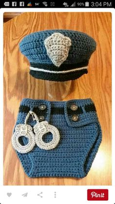 Baby crocheted
