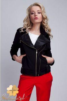 Zasuwana kurtka damska marki Lanti.  #cudmoda #moda #ubrania #odzież #clothes #kurtki