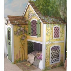 Fairy Tale Bed - I SO would have HAD to have this when I was growing up