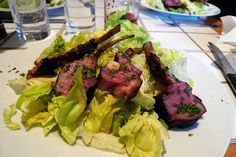 grilled rack of lamb asian salad from food 52