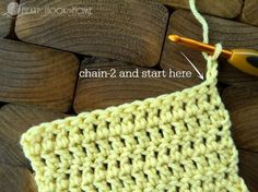Crocheting Straight Edges without Gaps