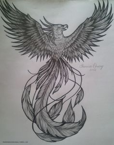 phoenix tattoo | Tumblr~ this is what I wanted :/ not what I got ~N