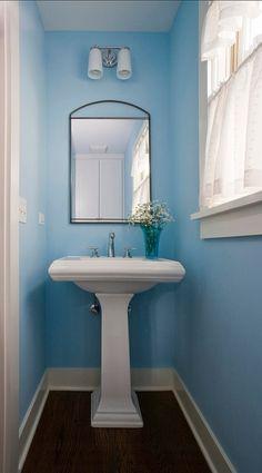 Interior Design Ideas: Paint Color  Benjamin Moore 2062-60 Blue Hydrangea