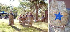 Potato sack race (burlap bags) (ideas for fam. Cowboy Birthday Party, Cowboy Party, Birthday Parties, Barn Parties, Western Parties, Woody Party, Sack Race, Burlap Bags, Childrens Party