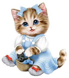 """(Sorry, thought I'd just keep with the theme as of late!)    Kittens of Of Figurine Collection   Hamilton Collection   Kittens measure 3"""" t..."""
