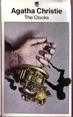 Agatha Christie THE CLOCKS Fontana rpt.1975 (Cover illus.Tom Adams) front cover image