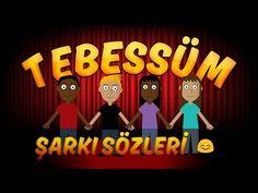 Tebessüm Şarkı Sözleri | Çizgi Animasyon | Fatih Peşmen | TRT Popüler Çocuk Şarkıları - YouTube