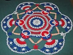 circle of victory ladies crocheted doily....I love this and would love to have one