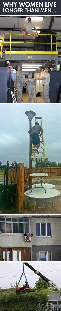 This is why women live longer than men…