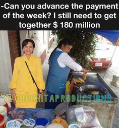 @Patichapoy orking hard to collect the $ 180 million to pay/ Trabajando duro para recabar los $180 millones para su deuda  #millionaire #complaint #press #gloriatrevi #chisme #meme #momos #momo