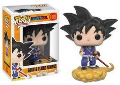 Funko POP Dragon Ball Z Anime Goku & Nimbus Action Figure Toy USA