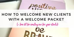 Coach or service based business? Sending a welcome packet is a must for creating stellar onboarding experience for your new clients. Here's what to include: