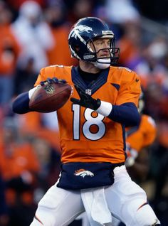 I don't care how many Super bowls he ends up with Peyton Manning is a wizard…