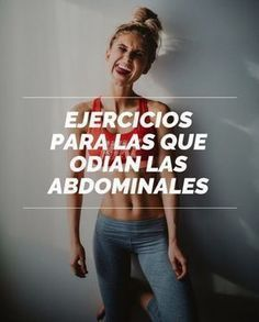 10 Sencillos ejercicios para chicas que odian las abdominales Fitness Exercise - Şifalı Kür Tarifleri - Mücize Kür Tarifi Workout Bauch, Pilates Video, Abdominal Exercises, Stay In Shape, Gym Time, Excercise, Exercise Routines, Stay Fit, Fitness Motivation