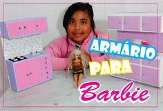 Como fazer Cozinha para Barbie ... como fazer ...