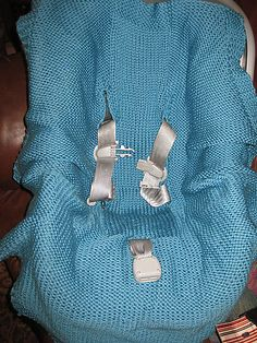 Car Seat Blanket Knitting Pattern : 1000+ images about Knitting Patterns on Pinterest Baby blankets, Car seat b...