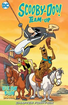 Scooby-Doo Team-Up // Quick Draw McGraw may be the high-falutin'est, fastest-shootin'est lawman on the lone prairie, but he needs help from Scooby and the gang when faced with that rustlin' wraith, the Fastest Ghost in the West! Superman, Batman, Free Comics, Dc Comics, Cadena Cartoon, Scooby Doo Mystery Incorporated, Drawn Art, The Jetsons, Favorite Cartoon Character