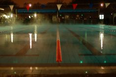 London Fields Lido. It's back into the pool for me!