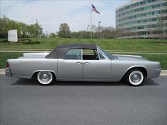 1961 Lincoln Suicide Door Convertible