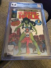 Savage She-Hulk #1 CGC 9.0 White Pages Marvel Comics 1980 1st App & origin Incredible Hulk, Amazing Spider, Batman Origin, Marvel Universe Characters, Transformers Generation 1, Hulk 1, Midtown Comics, Comic Books For Sale, New Teen