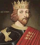 King Richard The Lion Heart (1157 - 1199)  24th great-granduncle