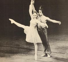 Gelsey Kirkland and Rudolf Nureyev in Le Corsaire pdd ❤️❤️ GORGEOUS