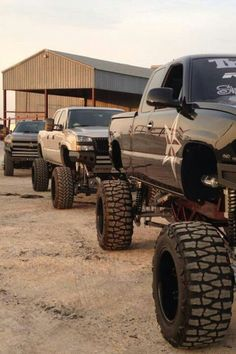 yup love jacked up trucks I want either a jacked up Chevy, dodge or ram Jacked Up Chevy, Lifted Chevy Trucks, Diesel Trucks, Cool Trucks, Pickup Trucks, Chevy 4x4, Chevrolet Silverado, Truck Quotes, Truck Memes
