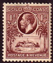 Gold Coast KGV 1928 Red Brown Unmounted Mint NHM SG 104 stamp christiansborg Listing in the Gold Coast,Gold Coast & Ghana,Commonwealth & British Colonial,Stamps Category on eBid From borucha Ivory Coast, Gold Coast, French West Africa, Buy Stamps, British Colonial, King George, Ms Gs, Commonwealth, Sierra Leone