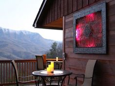 Cabins In Gatlinburg Tn, Big Screen Tv, Deck, King Beds, Places To Visit, Scenery, Patio, Luxury, Interior