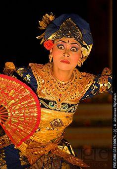 Temple dancer, Bali, Indonesia