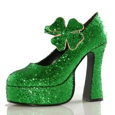 Shamrock (Green) Adult Shoes - $35.79 - St Patrick's Day Costumes at aWise.org