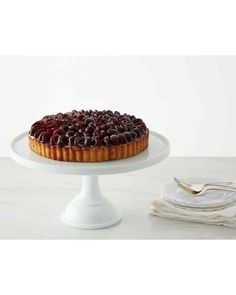 Kirsch brings out the sweet, juicy flavor of fresh Bing cherries in this sophisticated tart. Martha made this recipe on episode 611 of Martha Bakes.