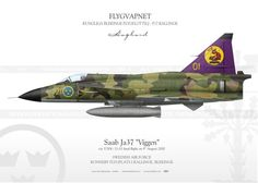 "Saab JA37 ""Viggen"" F21-01 IK-67"