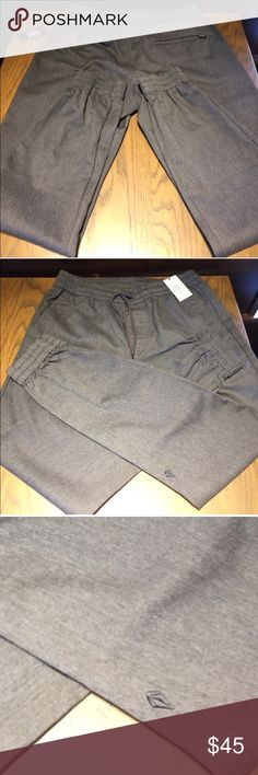 NWT Men's. Hurley Jogger Pants - Small New with tags men's stylish jogging pants by Hurley. Ask about discounting shipping! Hurley Pants Sweatpants & Joggers