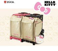 Zuca Bags - Zuca Sport Collection - Zuca Hello Kitty. Figure Skating ... 42e081d85e
