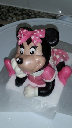 Chocolate Cake Toppers, Edible Cake Toppers, Fondant, Minnie Mouse, Fondant Icing, Candy