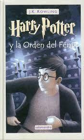 Titulo: Harry Potter y la orden del Fénix Autor: J.K. Rowling No. de Pedido: 823 R884HO 2010