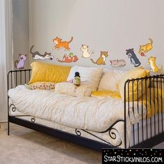 Gatos - Vinilo infantil
