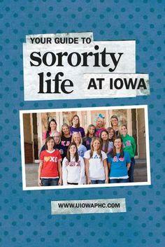 University of Iowa sororities