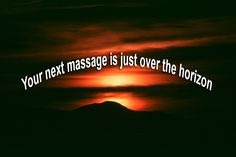 Your next massage is just over the horizon