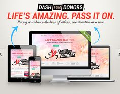 """Check out new work on my @Behance portfolio: """"Dash for Donors Website Design & Development"""" http://be.net/gallery/33566163/Dash-for-Donors-Website-Design-Development"""