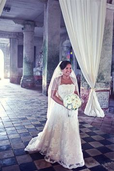 Camille & Steve: Bridal Gown