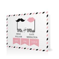 Hochzeitseinladung Mr & Mrs in Sorbet - Klappkarte flach #Hochzeit #Hochzeitskarten #Einladung #Foto #modern #Typo https://www.goldbek.de/hochzeit/hochzeitskarten/einladung/hochzeitseinladung-mr-und-mrs?color=sorbet&design=ad9f5&utm_campaign=autoproducts