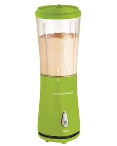 Hamilton Beach Personal Single Serve Blender with Travel Lid, Green (51126) *** More info could be found at the image url.