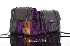 DIY Luxury Shoulder Bag Kit crochet bag kit DIY bag kit eco